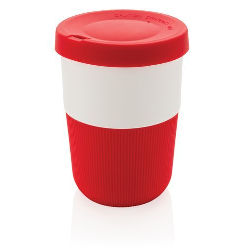 PLA Cup Coffee-To-Go 380ml, rot (Art.-Nr. CA263993)