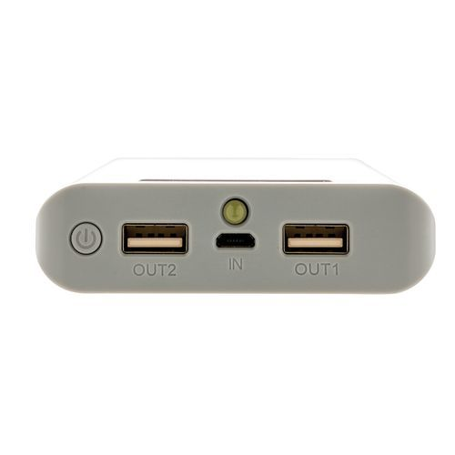10.000mAh Powerbank mit Display (Art.-Nr. CA640805) - Powerbank mit 10.000mAh Lithium Batterie...