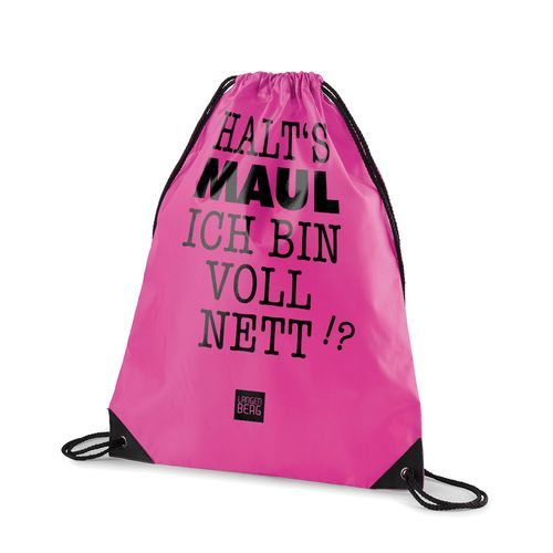 Sportbeutel STRING BAG (pink) (Art.-Nr. CA029901)