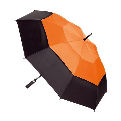 Gastschirm STORM (schwarz / orange) (Art.-Nr. CA136476)