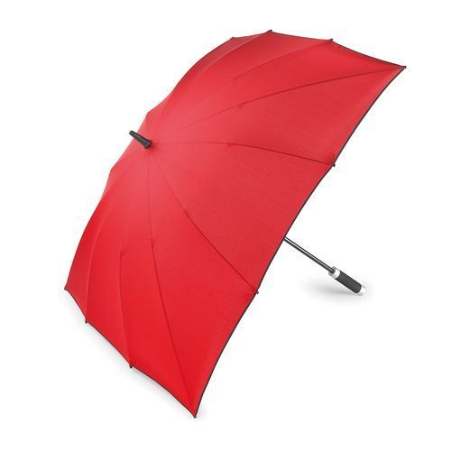 Golf Umbrella CARRÉ (rot / schwarz) (Art.-Nr. CA185517)