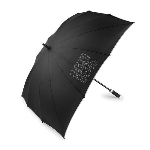 Golf Umbrella CARRÉ (schwarz / grau) (Art.-Nr. CA193533)