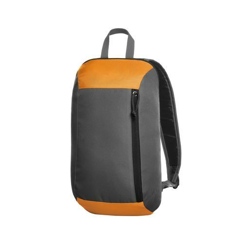 Rucksack FRESH (grau-orange) (Art.-Nr. CA013377)
