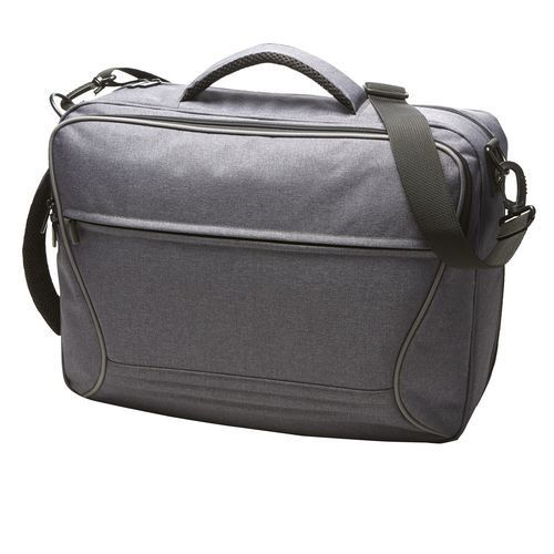 Combi bag ATTENTION (blau-grau-meliert) (Art.-Nr. CA097499)