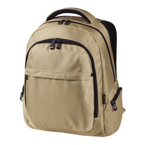 Notebook-Rucksack MISSION (beige) (Art.-Nr. CA465097)