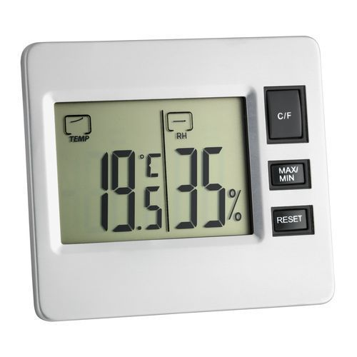 digitales Thermo-Hygrometer (silber) (Art.-Nr. CA753783)