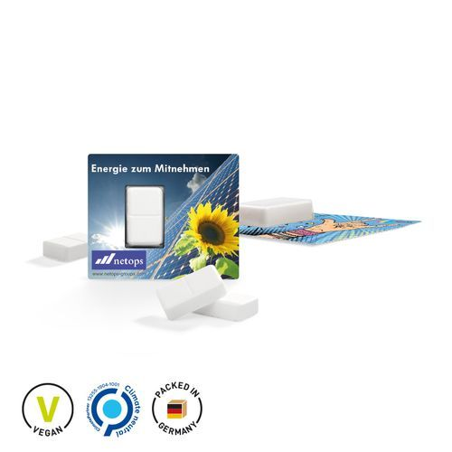Traubenzucker Energie-Karte, Digital [100er Pack] (weiß) (Art.-Nr. CA738666)