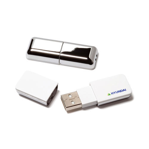 Chrome USB FlashDrive (weiß) (Art.-Nr. CA110124)