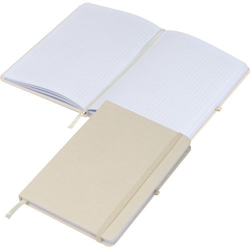 Notizbuch Canvas A5 (beige) (Art.-Nr. CA378118)