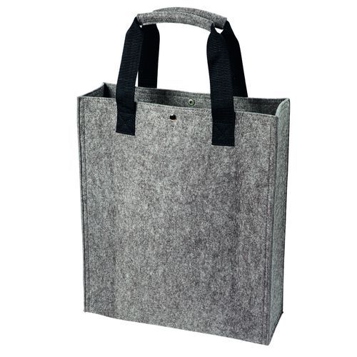 Polyesterfilz Shopper (anthrazit) (Art.-Nr. CA242708)