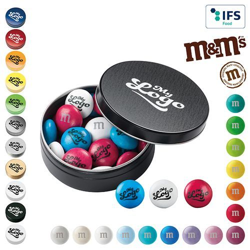 My M&M's® Metallbox 20 g (1-4-farbig) (Art.-Nr. CA065182)