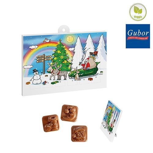 A5-Schoko-Adventskalender BASIC OHNE Werbeeindruck (Standardmotiv) (Art.-Nr. CA488024)
