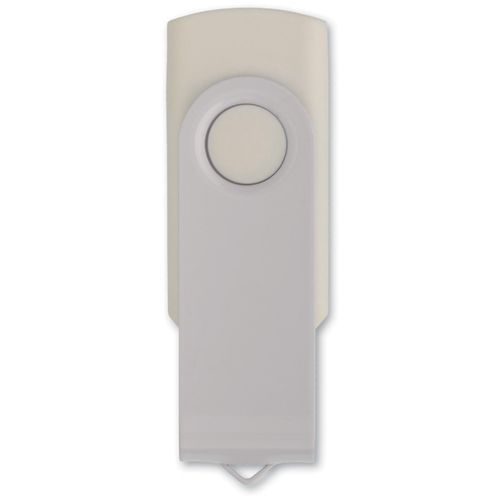 USB 4GB Flash drive Twister (Weiss) (Art.-Nr. CA020024)