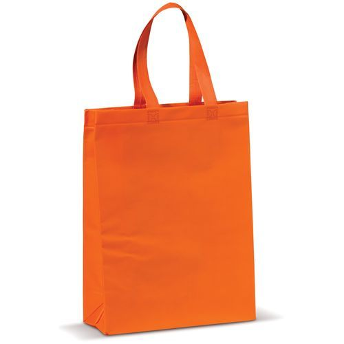 Laminierte Non Woven Tasche (orange) (Art.-Nr. CA042705)