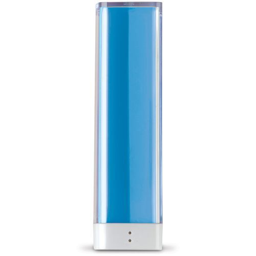 Powerbank 2200mAh Transparent (transparent hellblau) (Art.-Nr. CA094349)
