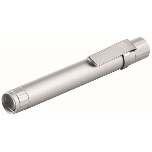 Metmaxx® LED Megabeam 'TechPen' WARM WHITE Light (silber) (Art.-Nr. CA737764)
