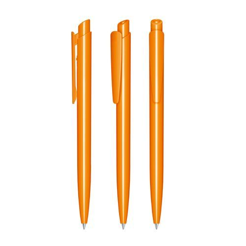 senator® Dart Polished Druckkugelschreiber (orange 151) (Art.-Nr. CA082519)