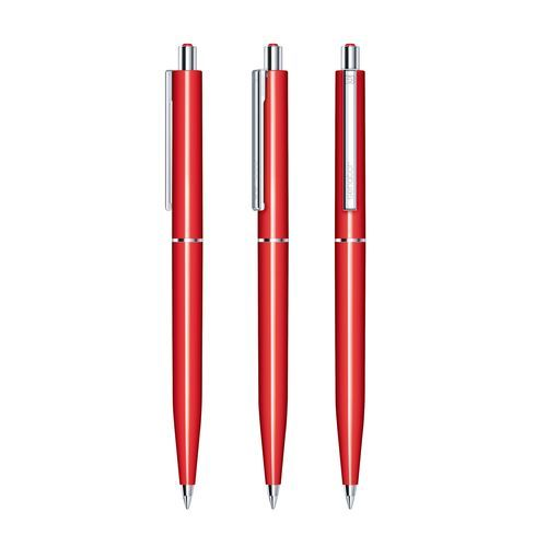 senator® Point Polished Druckkugelschreiber (rot 186) (Art.-Nr. CA143745)