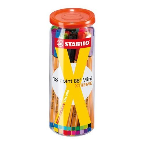STABILO point 88 Mini XTREME Fineliner-Dose (Art.-Nr. CA772055)