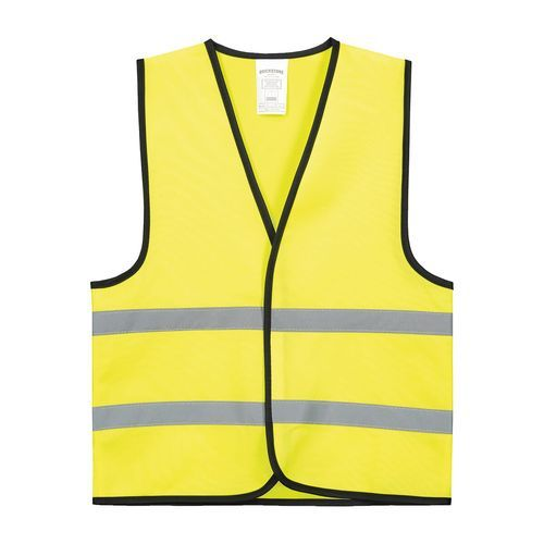 Kindersicherheitsweste Polyester (yellow) (Art.-Nr. CA037463)