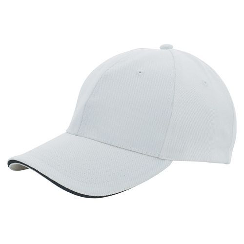 Canvas Sandwich Cap (white / black) (Art.-Nr. CA191673)