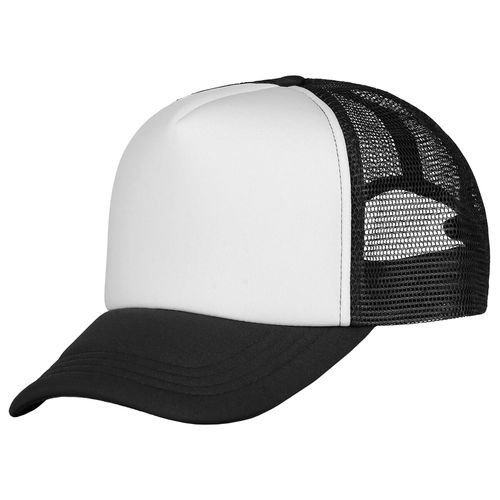 Trucker Cap Deluxe (black / white) (Art.-Nr. CA708638)