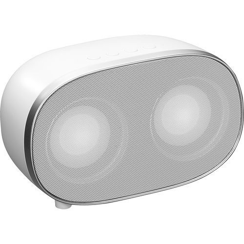 Bluetooth Speaker 2*3W weiß (weiß / silber) (Art.-Nr. CA421348)