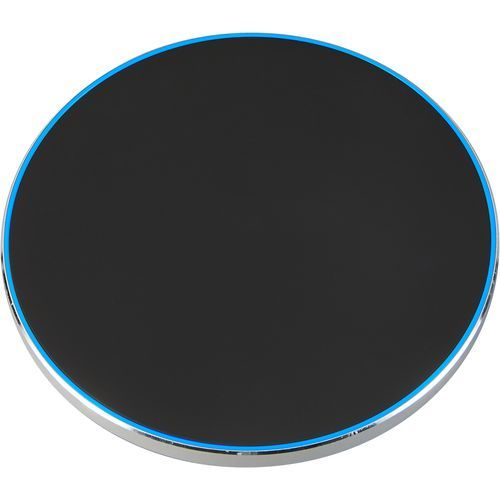Wireless charger 10 W silber (schwarz) (Art.-Nr. CA639577)