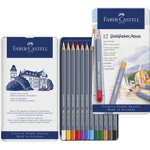 Goldfaber Aquarell 12er Metalletui (Art.-Nr. CA931540)