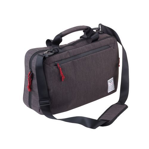 TROIKA Aktentasche BUSINESS BRIEFCASE XXL (anthrazit / schwarz) (Art.-Nr. CA109311)