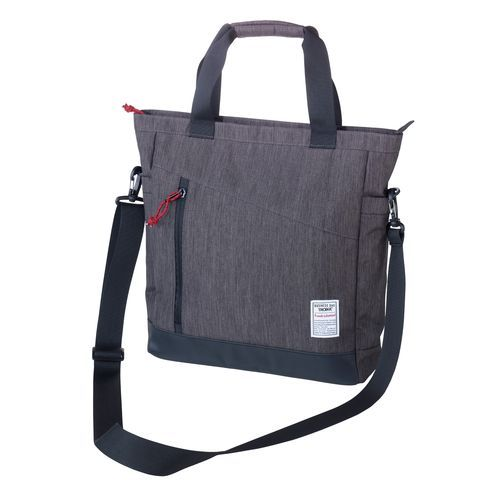 TROIKA Business-Schultertasche BUSINESS SHOULDER BAG (anthrazit / schwarz) (Art.-Nr. CA128125)