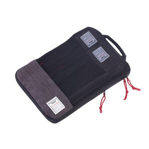 TROIKA Reise-Kompressionstaschen Set BUSINESS PACKING CUBES (anthrazit / schwarz) (Art.-Nr. CA332798)