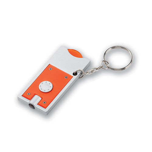 MATE.LED-Taschenlampe und Chiphalter, Chip 0, 50 € (orange) (Art.-Nr. CA890254)