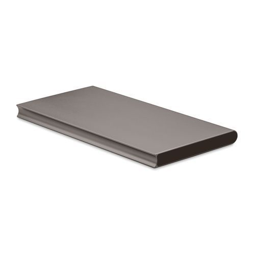 Powerbank 8000 mAH 'POWERFLAT8' (Art.-Nr. CA089506) - Powerbank 8000 mAh aus Aluminium....
