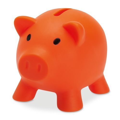 Softco Sparschwein (orange) (Art.-Nr. CA245704)