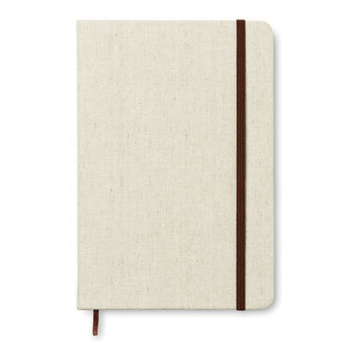 Canvas Din A5 Notizbuch Mit Canvas (beige) (Art.-Nr. CA516927)