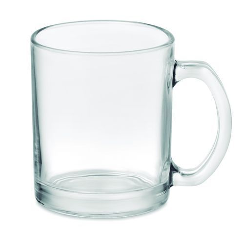 Kaffeebecher aus Glas 300 ml (transparent) (Art.-Nr. CA696597)