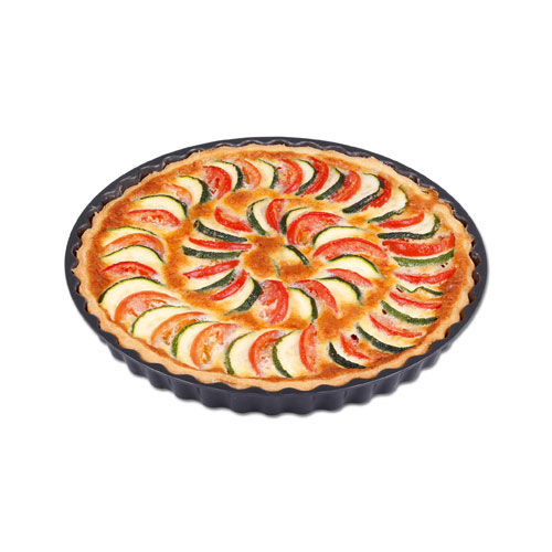 Quiche-Kuchenform (anthrazit-metallic) (Art.-Nr. CA024783)
