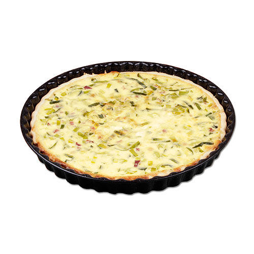 Quiche Form (schwarz) (Art.-Nr. CA977506)