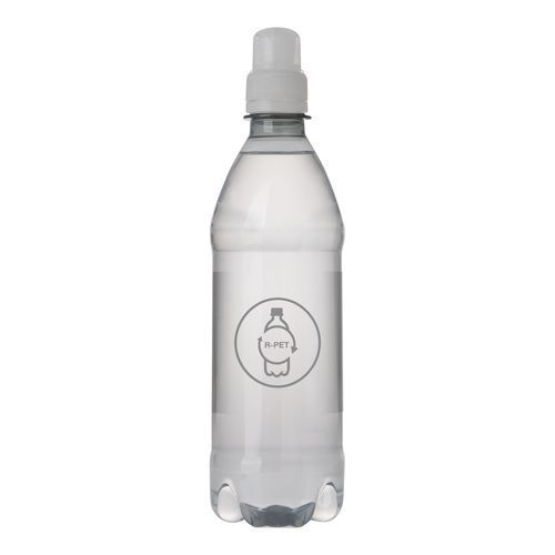 Quellwasser R-PET Flasche [500 ml] (transparent) (Art.-Nr. CA005519)