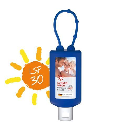 Sonnenmilch, 50 ml Bumper (blau), Body Label (blau) (Art.-Nr. CA069756)