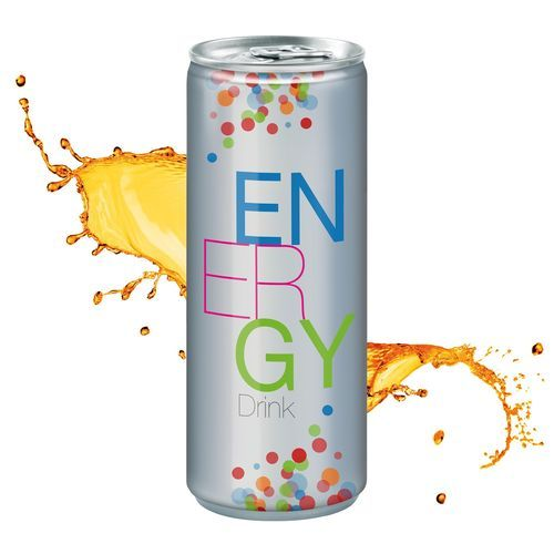 Energy Drink, 250 ml, Fullbody transp. (mehrfarbig) (Art.-Nr. CA368692)