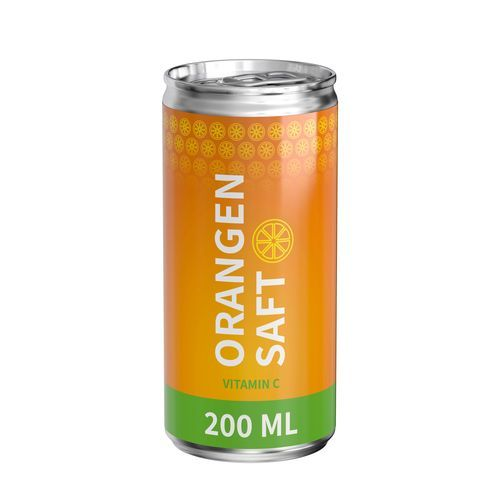Bio Orangensaft, 200 ml, Body Label (Pfandfrei) (Art.-Nr. CA526544)