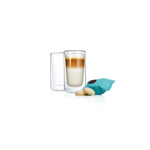 Blomus Set 2 Latte-Macchiato-Gläser - NERO (transparent) (Art.-Nr. CA063591)