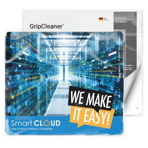 GripCleaner® 4in1 Mousepad 23x20 cm, All-Inklusive-Paket (individuell) (Art.-Nr. CA911715)