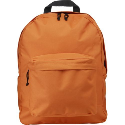 Rucksack 'Basic' aus Polyester (orange) (Art.-Nr. CA000168)