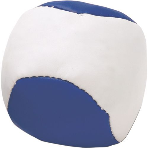 Anti-Stress-Ball 'Single' aus Kunstleder (blau) (Art.-Nr. CA089686)