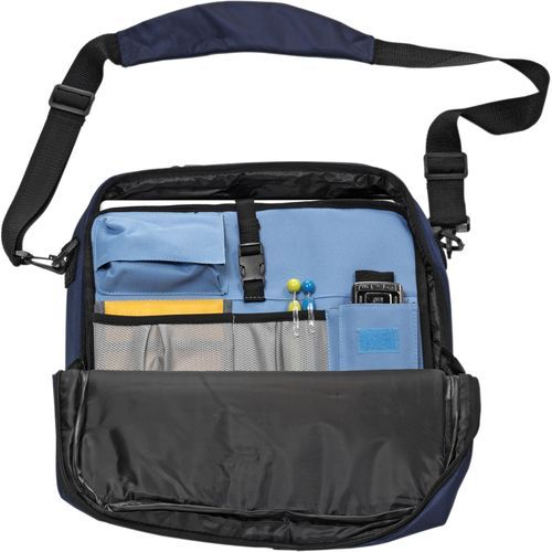 Laptoptasche/Rucksack 'Cambridge' (blau) (Art.-Nr. CA092641)