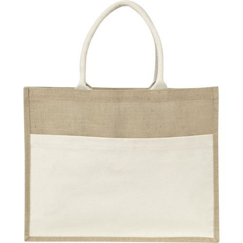 Shopper 'Nature' aus Jute (neutral) (Art.-Nr. CA875987)
