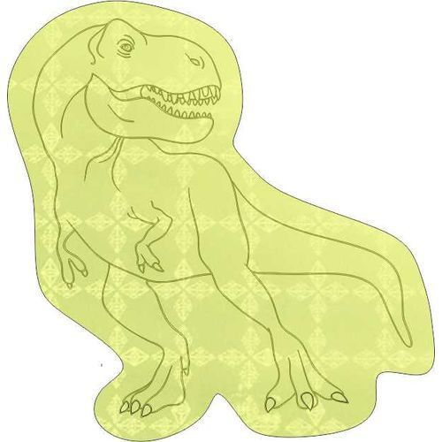 Sticker S-16 Dinosaurier 51 x 60 mm (weiß) (Art.-Nr. CA166154)